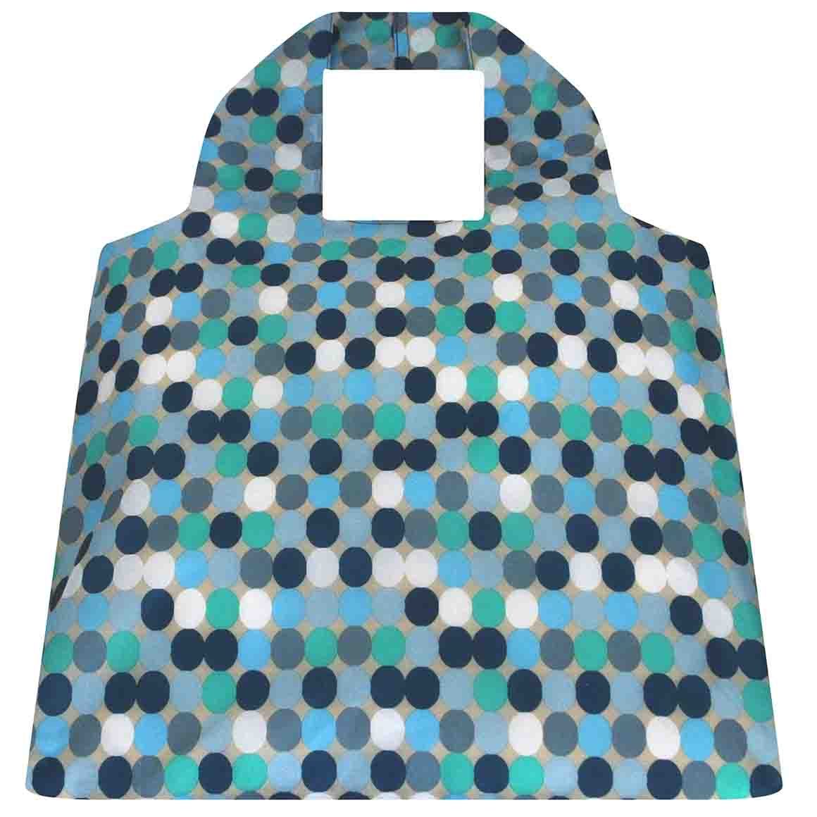 Blue Spots SAKitToMe Foldable Shopping Bag  | Trada Marketplace