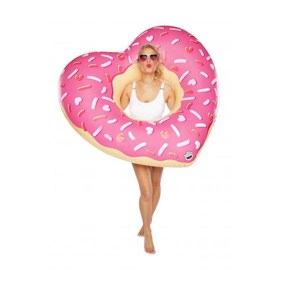 BigMouth Giant Heart Donut Float   Trada Marketplace