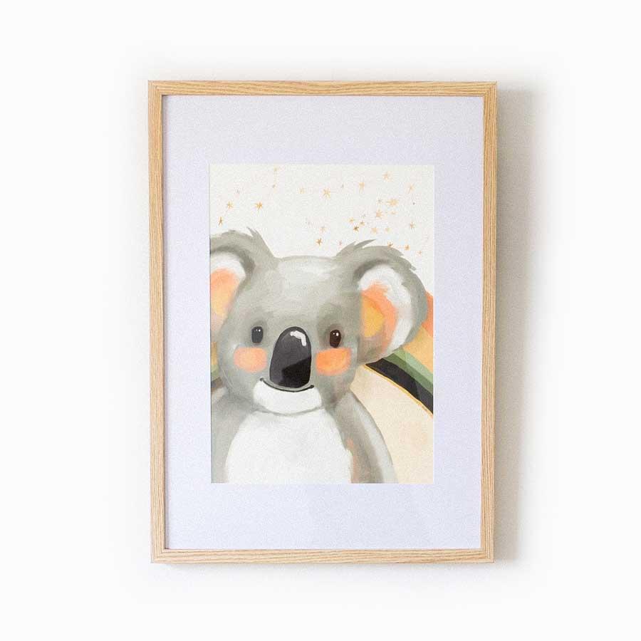 Billie Koala Fine Art Print | Trada Marketplace