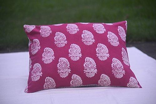 Asiyah Paisley Pink Cushion | Trada Marketplace
