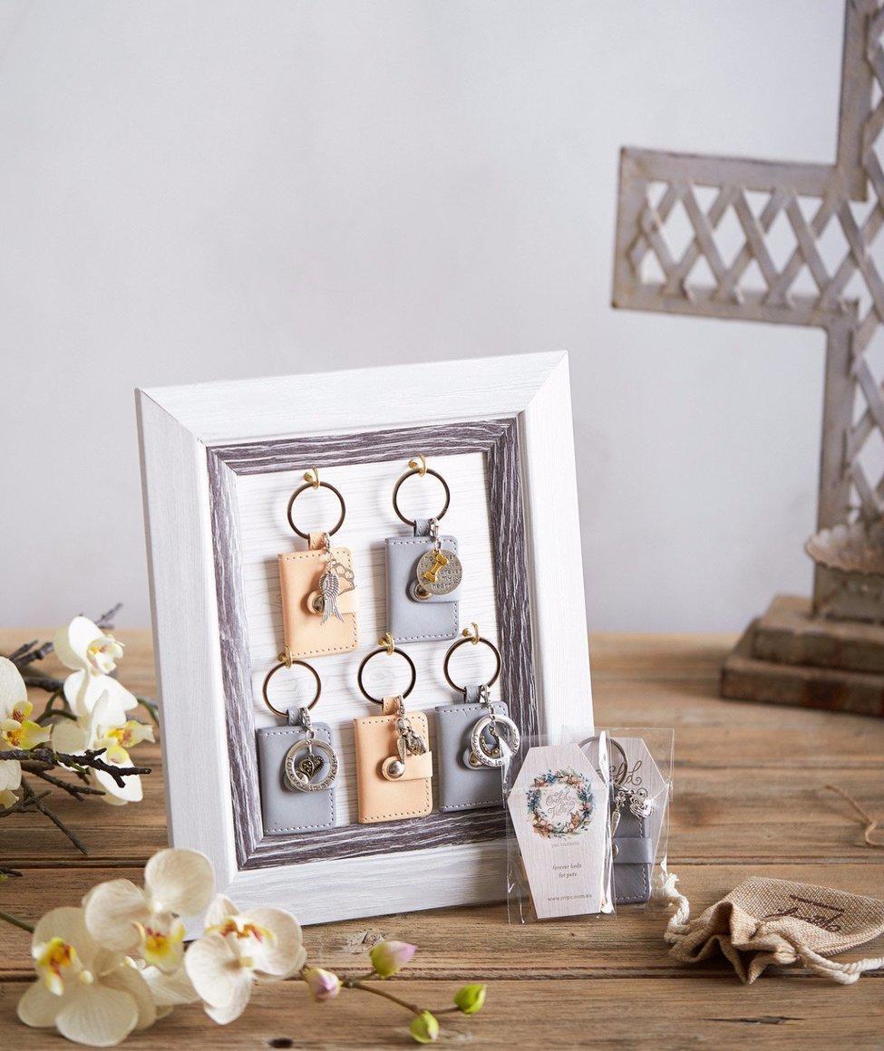 Memorial keychain GREY   Trada Marketplace