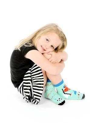 Robot & Alien   Kids Collectible Mismatched Socks   Trada Marketplace
