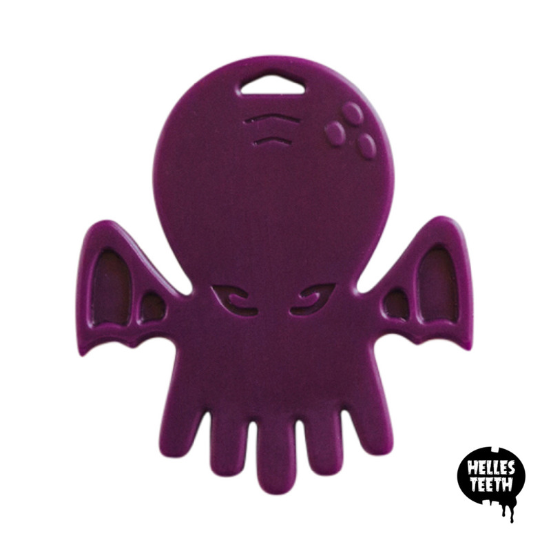 Cthulhu Chew Teether - Eldritch Purple | Trada Marketplace