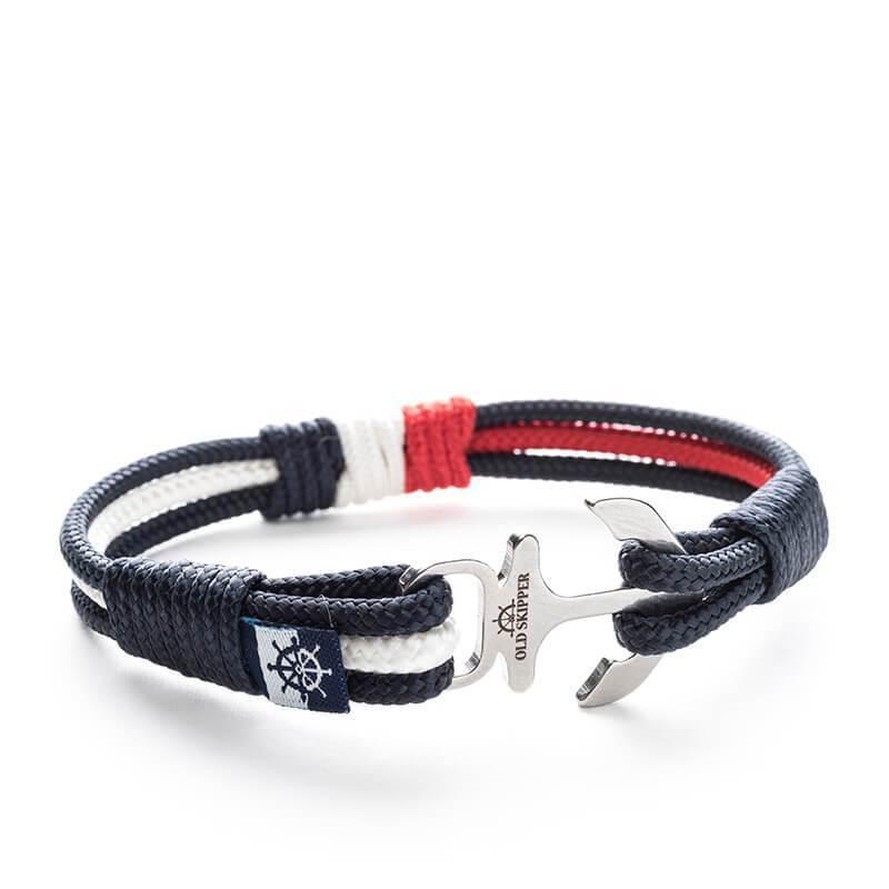 Cabral - Nautical Rope Anchor Bracelet | Trada Marketplace