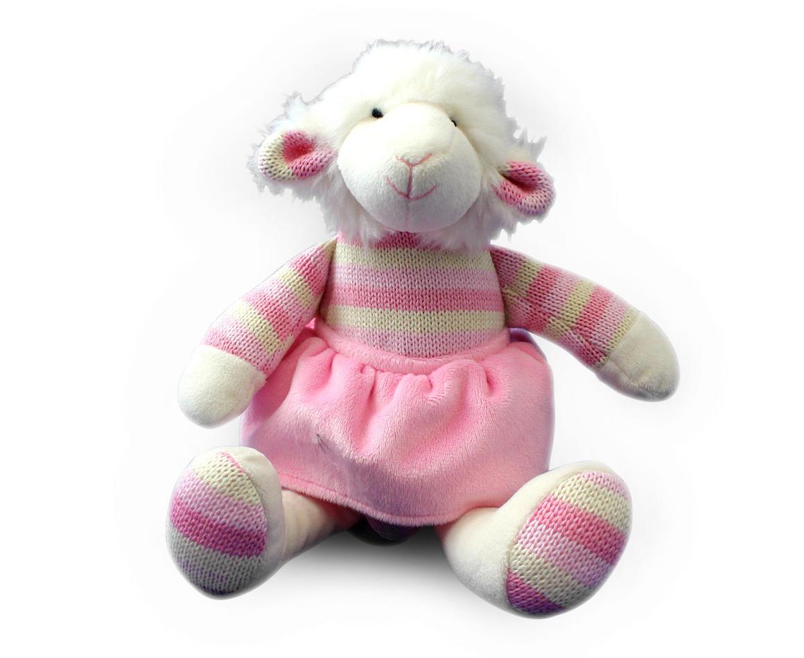 Plush Toy Lamb - Pink    Trada Marketplace