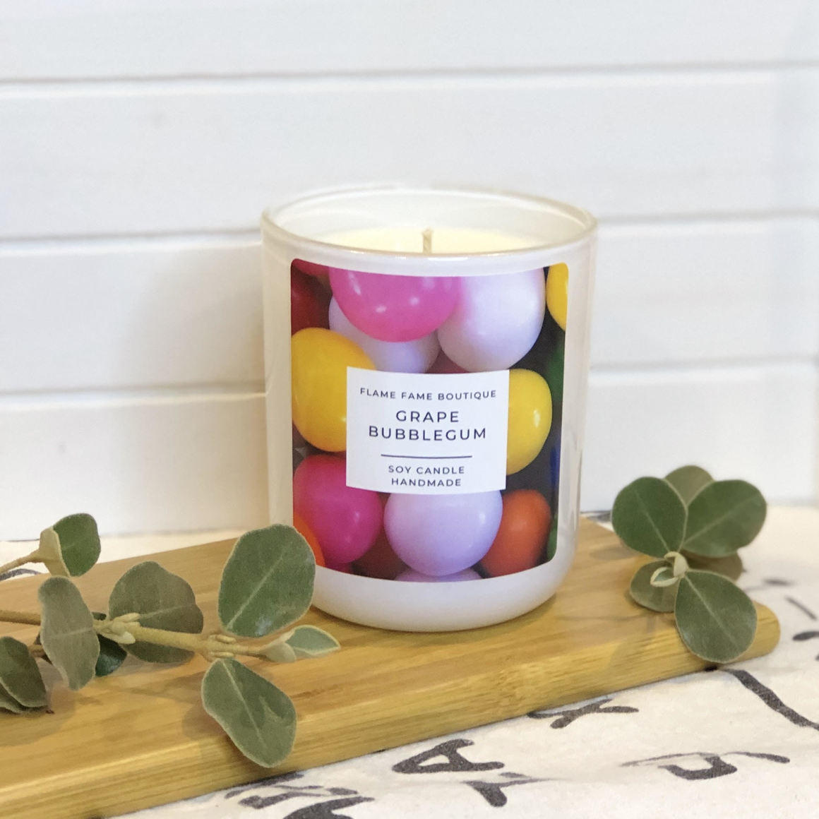 Grape Bubblegum Candle Jar   Trada Marketplace