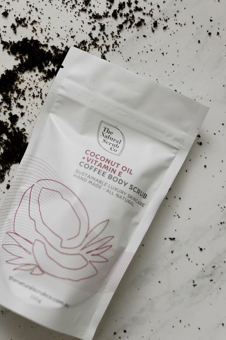 Coconut Oil & Vitamin E Body Scrub   Trada Marketplace