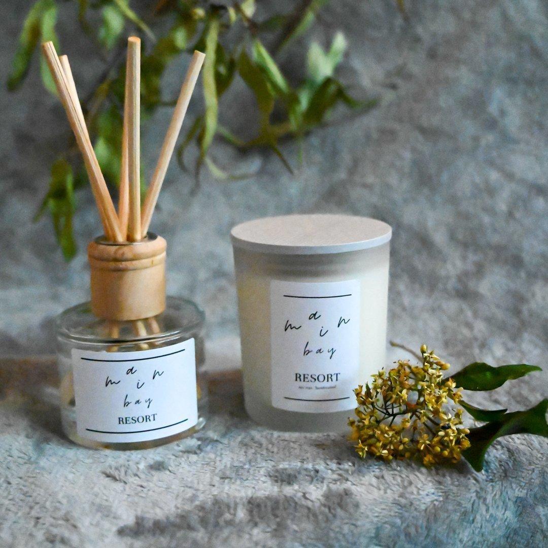 Resort Milieu Candle and Diffuser Set | Trada Marketplace