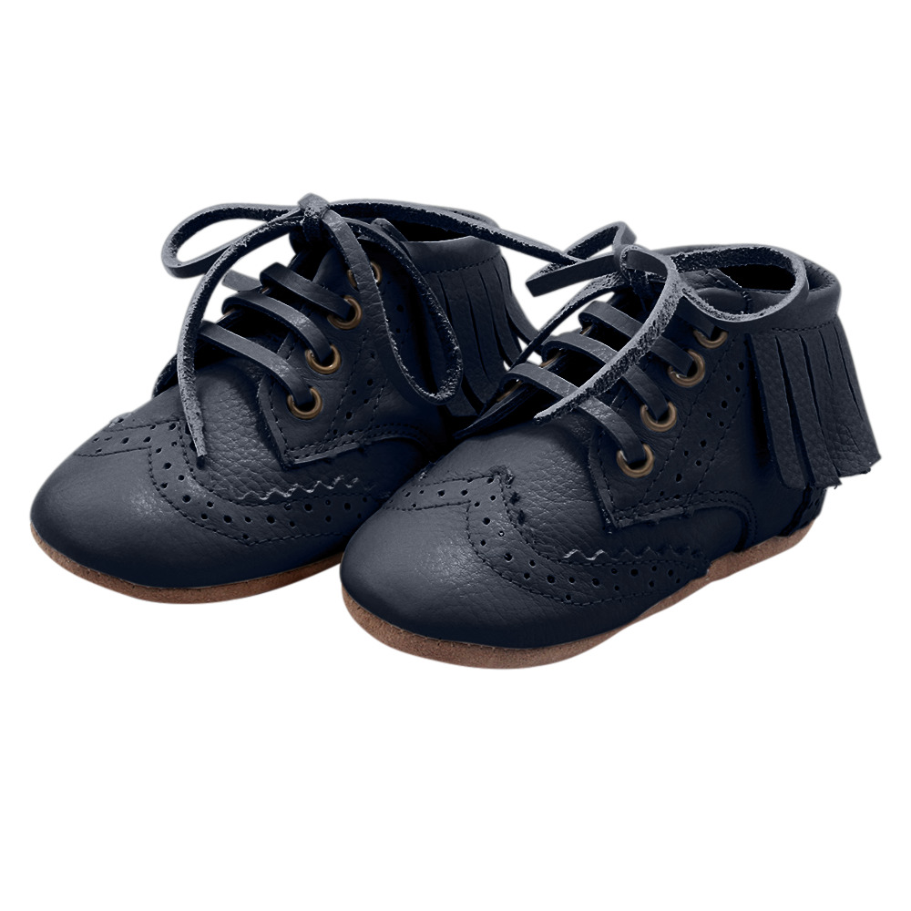 Blake Boot Collection - 100% Leather - Navy | Trada Marketplace