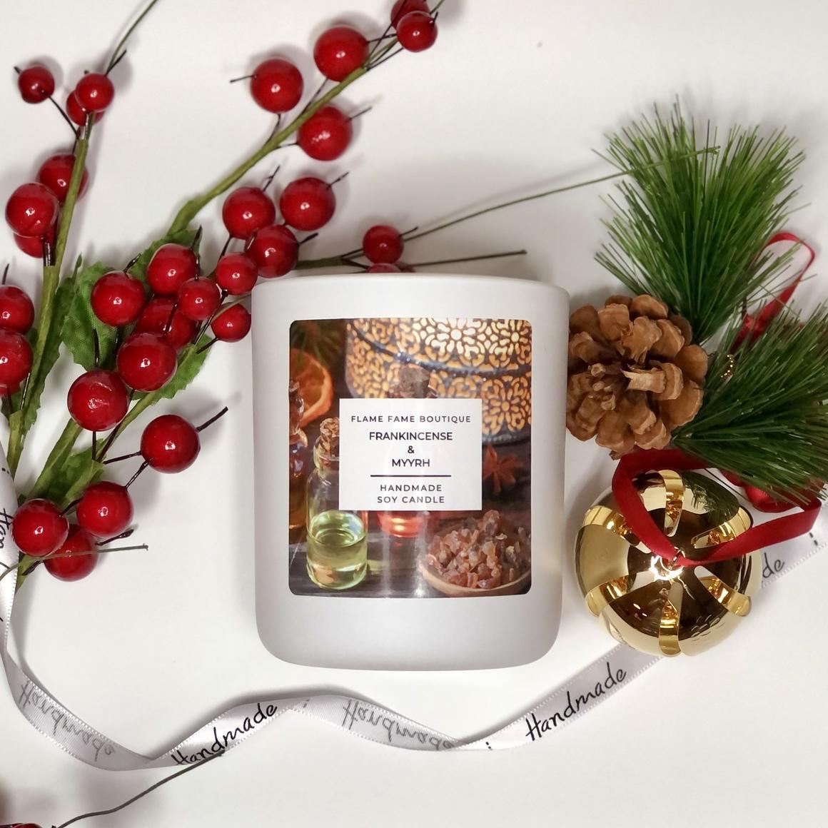 Frankincense and myrrh Candle Jar   Trada Marketplace