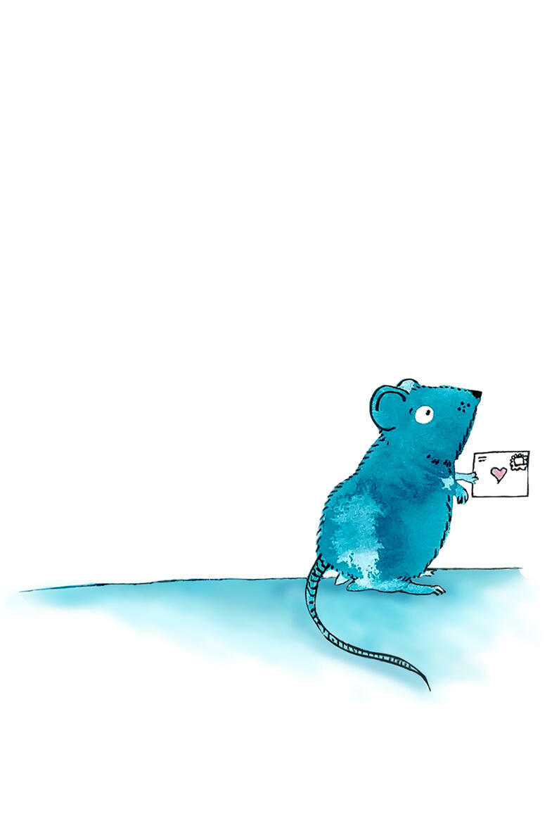 Mouse Love Letter   Trada Marketplace