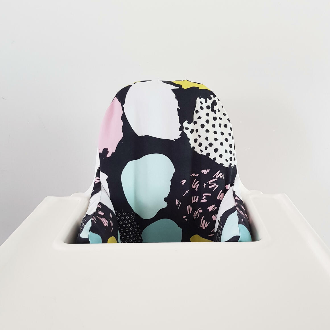 Highchair cushion cover - Black   Trada Marketplace