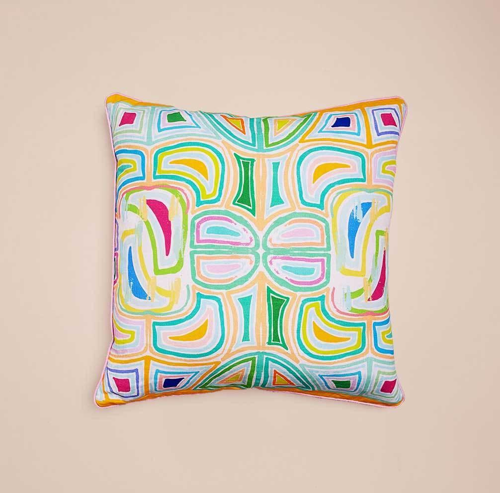 Read Between the Lines I Cushion (double-sided)   Trada Marketplace