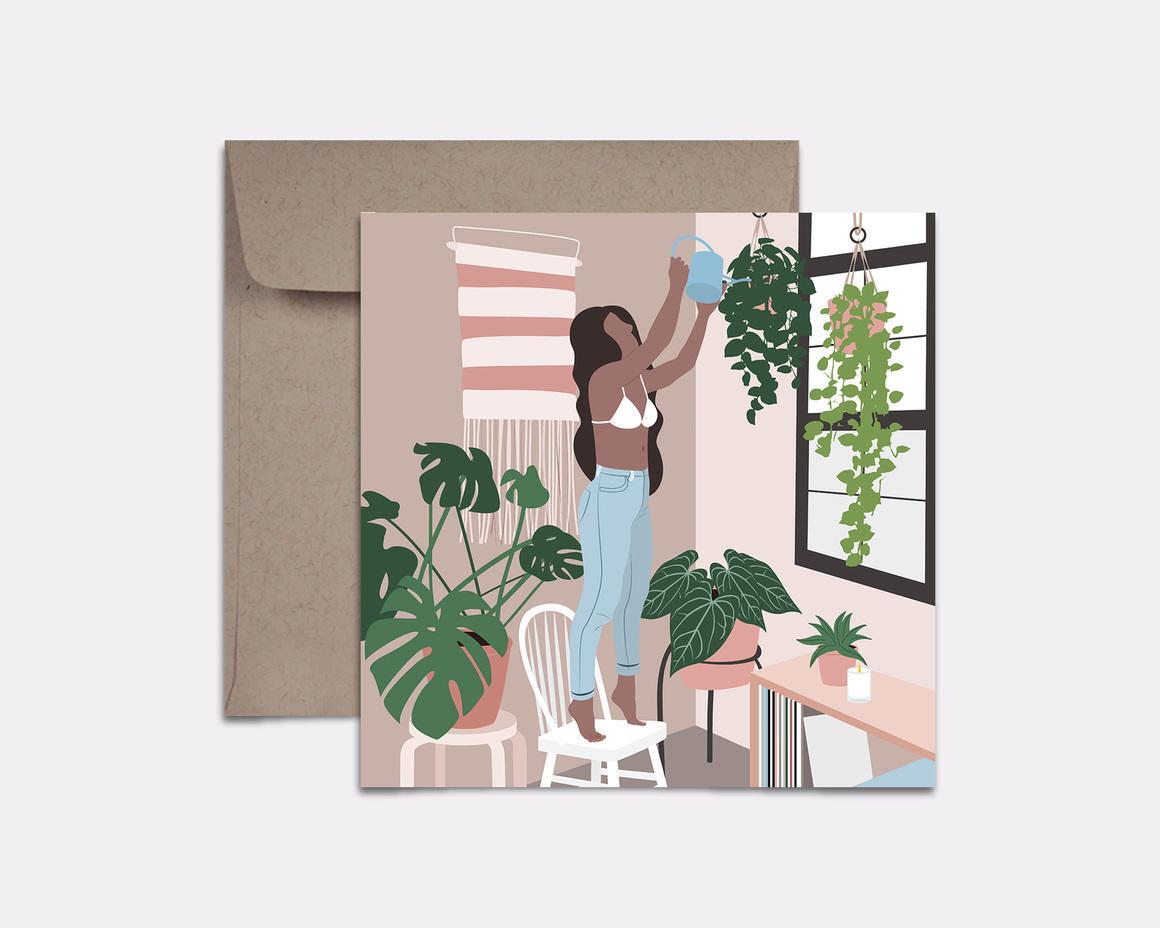 Plant Lover Card | Trada Marketplace