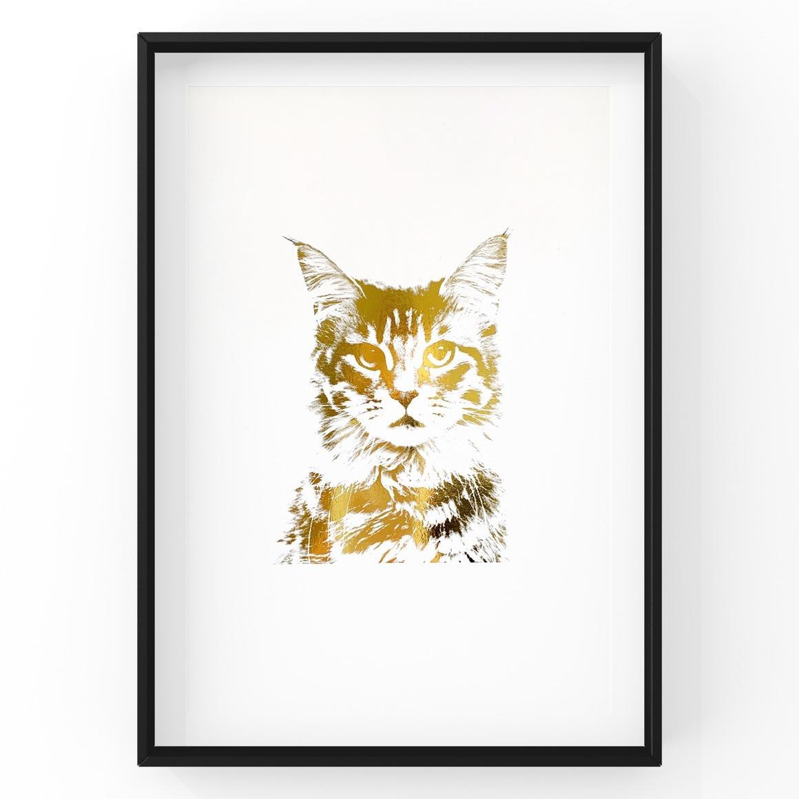 Maine Coon Cat Face | Trada Marketplace