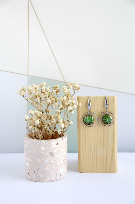 Green Obsidian Earring | Trada Marketplace