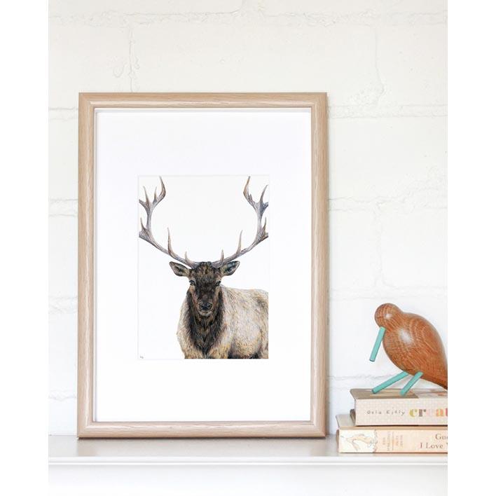 Elk Mini Print  | Trada Marketplace