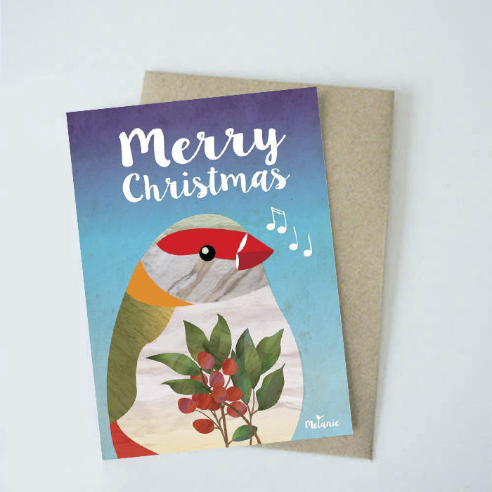 Merry Christmas Finch   Trada Marketplace