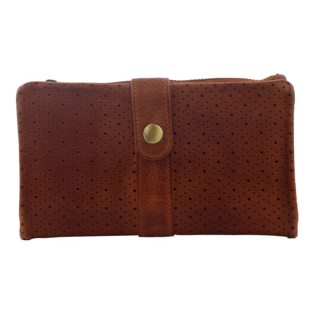 Pierre Cardin Perforated Leather Ladies Bi-Fold Wallet   Trada Marketplace