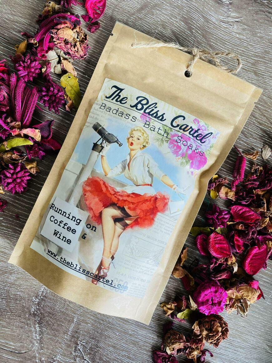 Running on Coffee & Wine Bath Soak | Trada Marketplace
