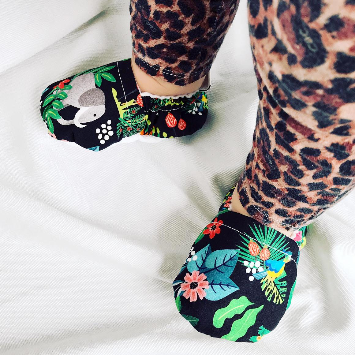Jungle Baby Booties | Trada Marketplace