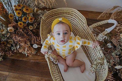 LS Ruffle Onzie Golden Plait | Trada Marketplace