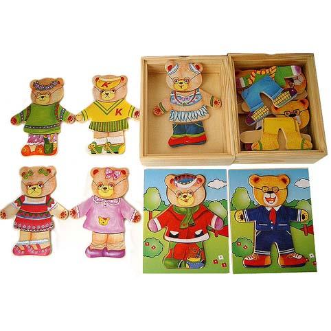 Mama Bear Dressing puzzle box   Trada Marketplace