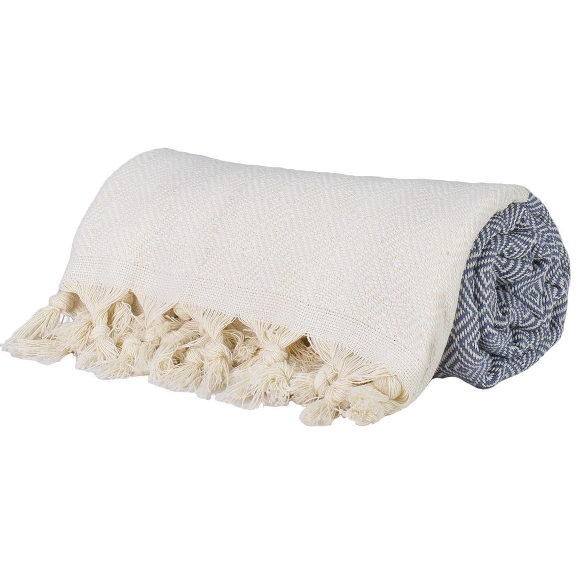 PETROLEUM GREY TURKISH TOWEL - THICK | Trada Marketplace