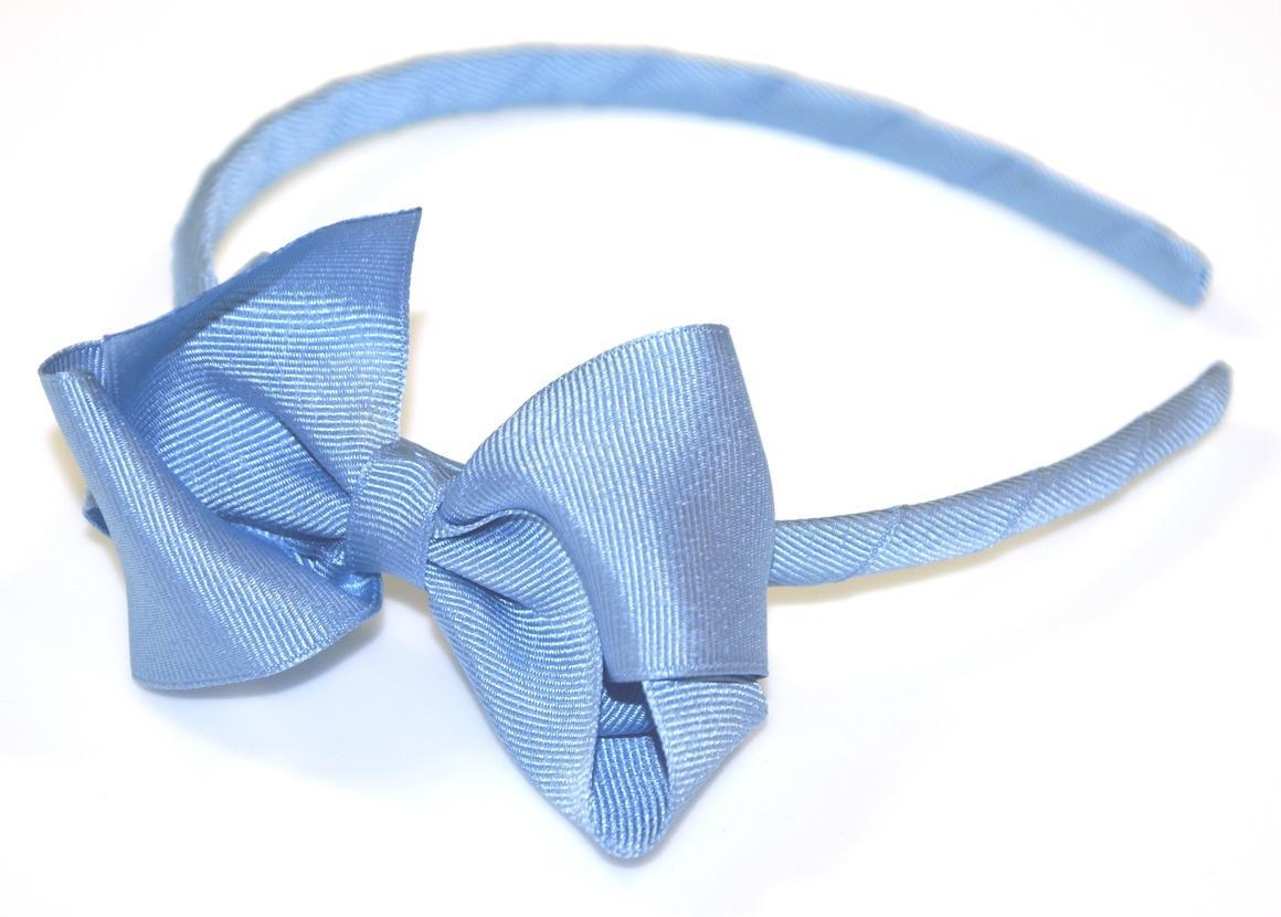 GROSGRAIN TURNED BOW ALICE BAND | Trada Marketplace