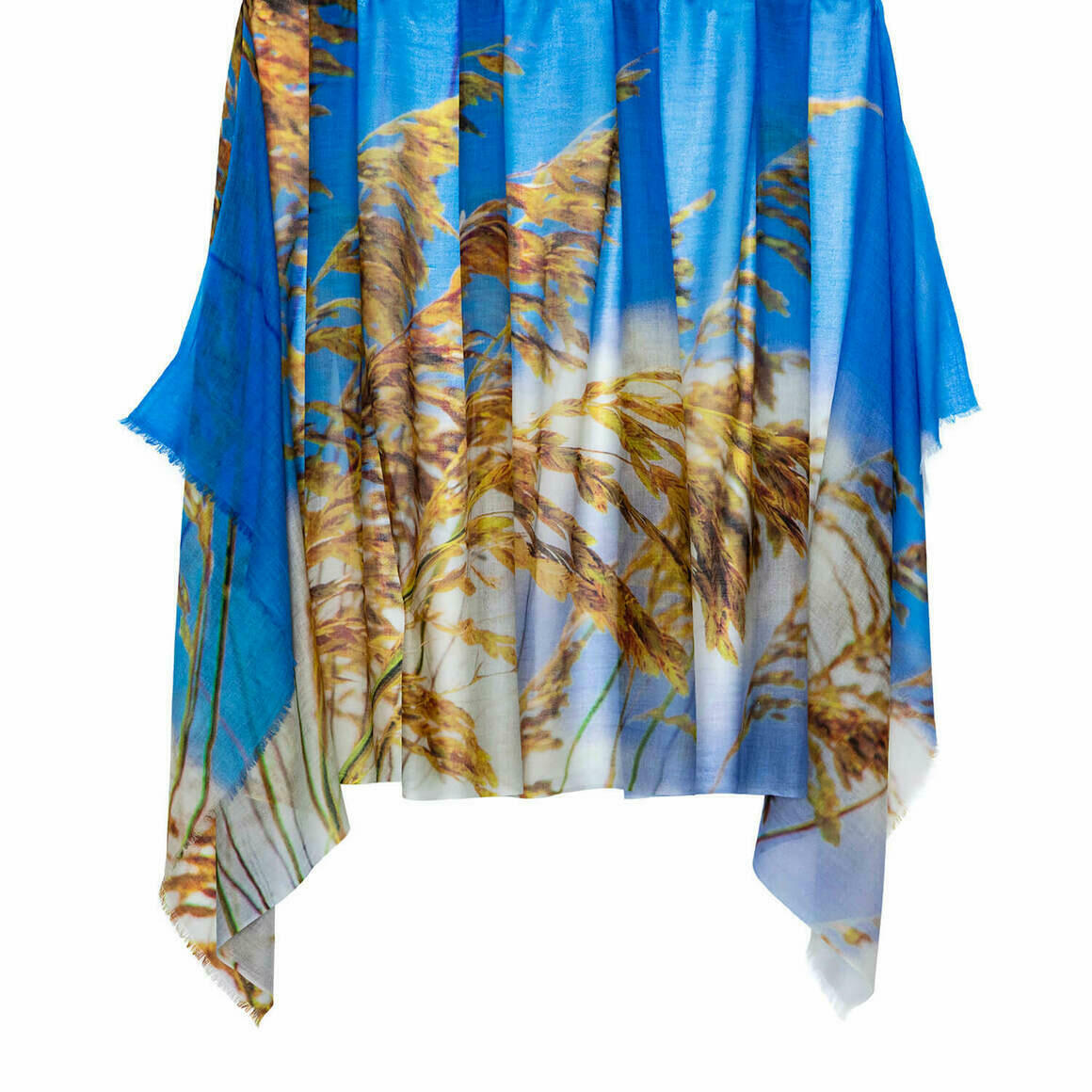 Dune Grass Australian Merino Wool & Cashmere Scarf   Trada Marketplace