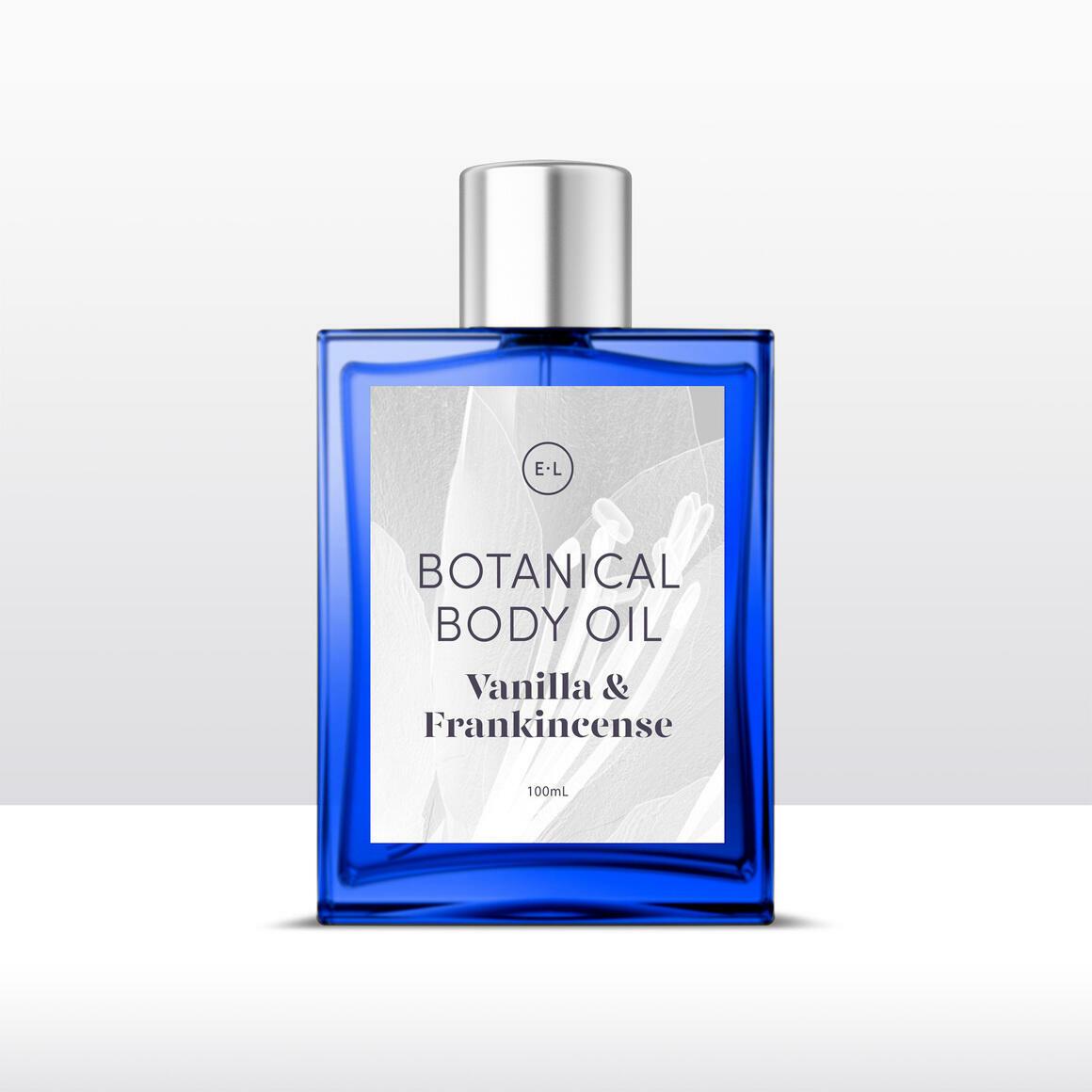Vanilla + frankincense natural body oil | Trada Marketplace