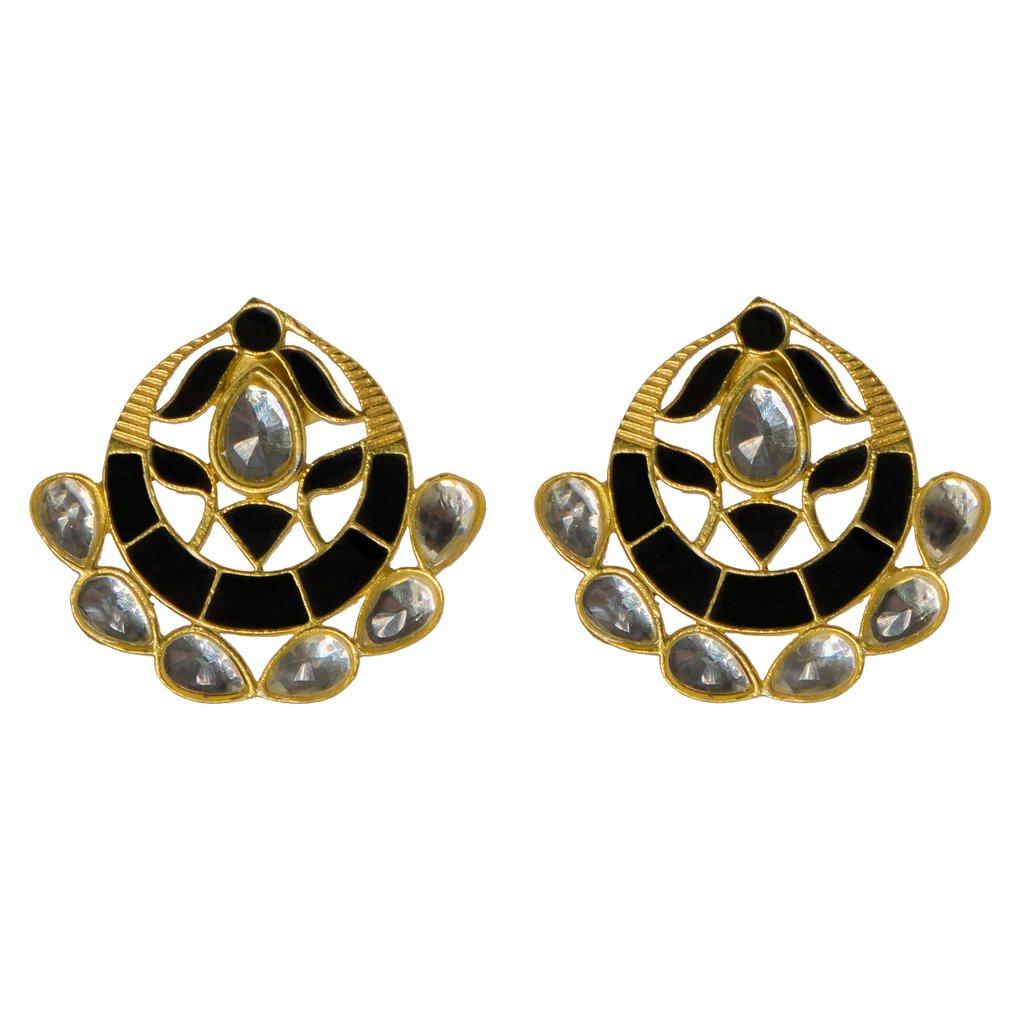 Asra Earrings Black   Trada Marketplace