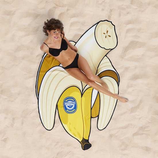 BigMouth Banana Beach Blanket   Trada Marketplace