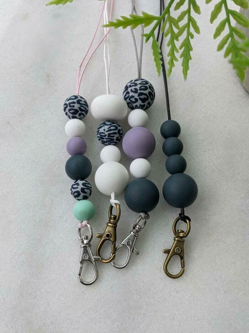 Silicon and Wooden Bead Lanyard | Trada Marketplace