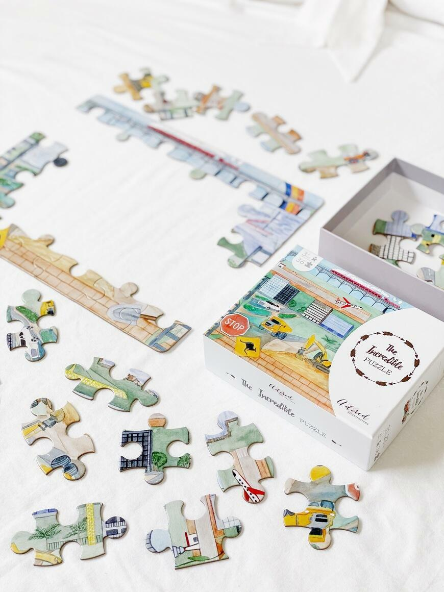 The Incredible Puzzle | Trada Marketplace