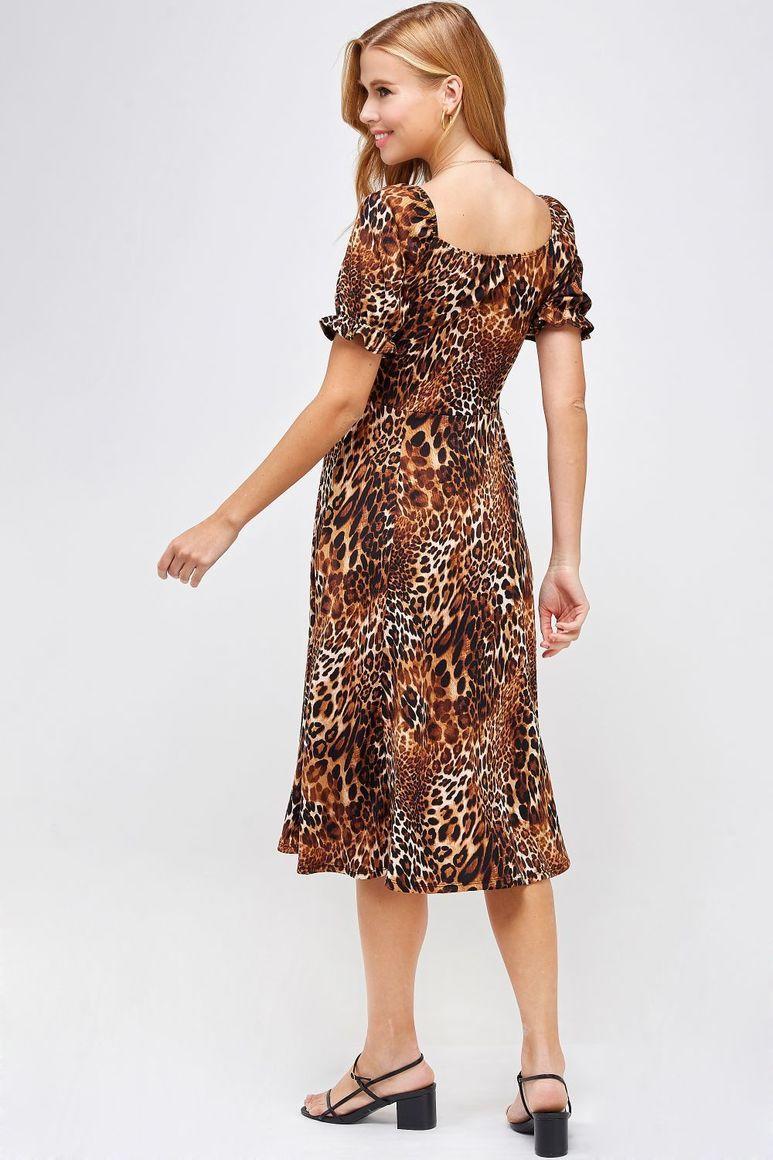 Joyous Animal Print Dress   Trada Marketplace