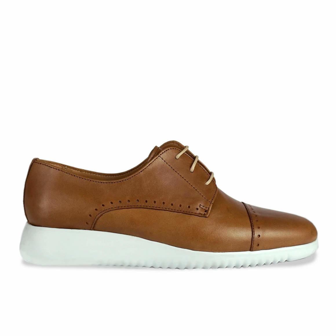 Kimbo: Tan Leather Brogue   Trada Marketplace
