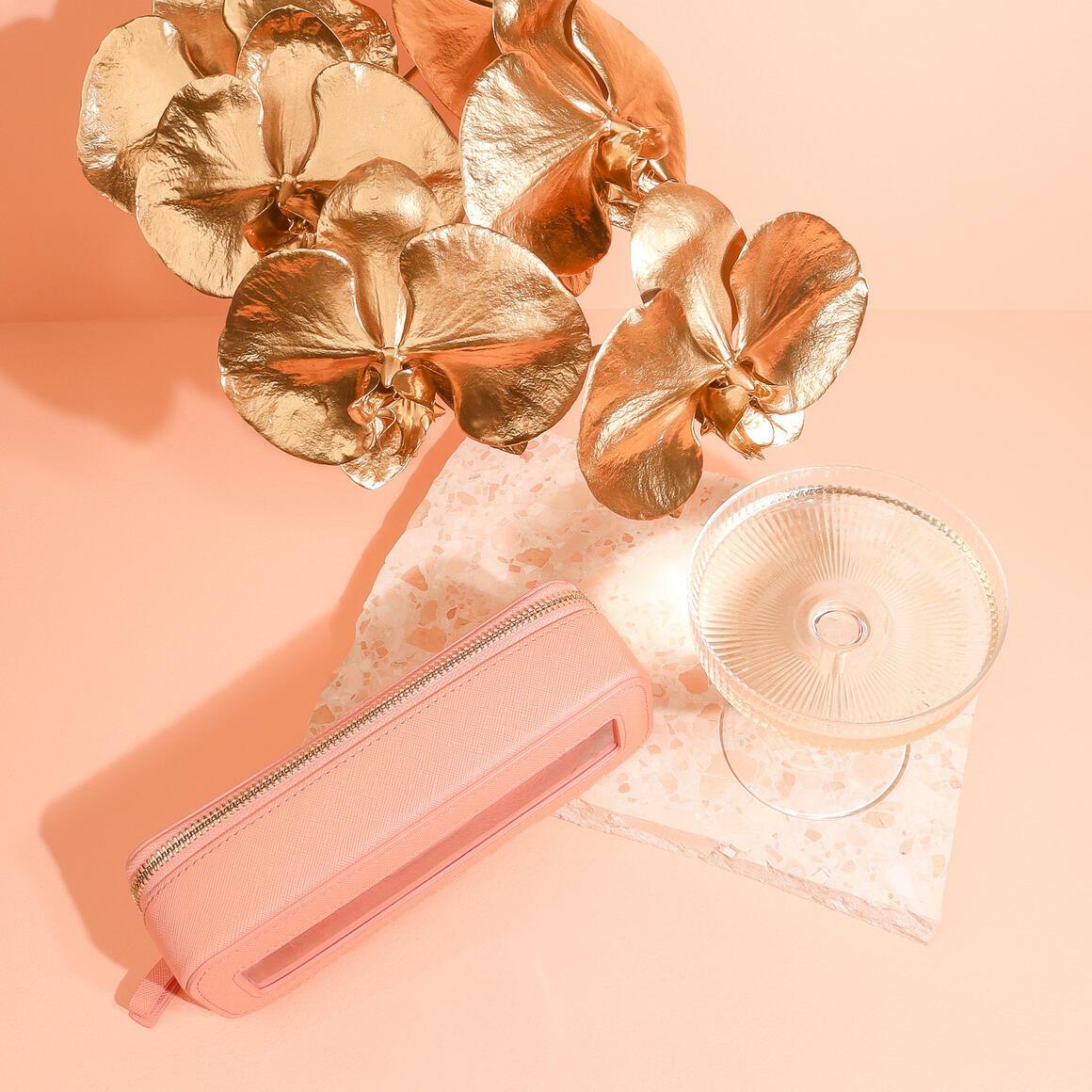Peach Cosmetic Bag - Small | Trada Marketplace