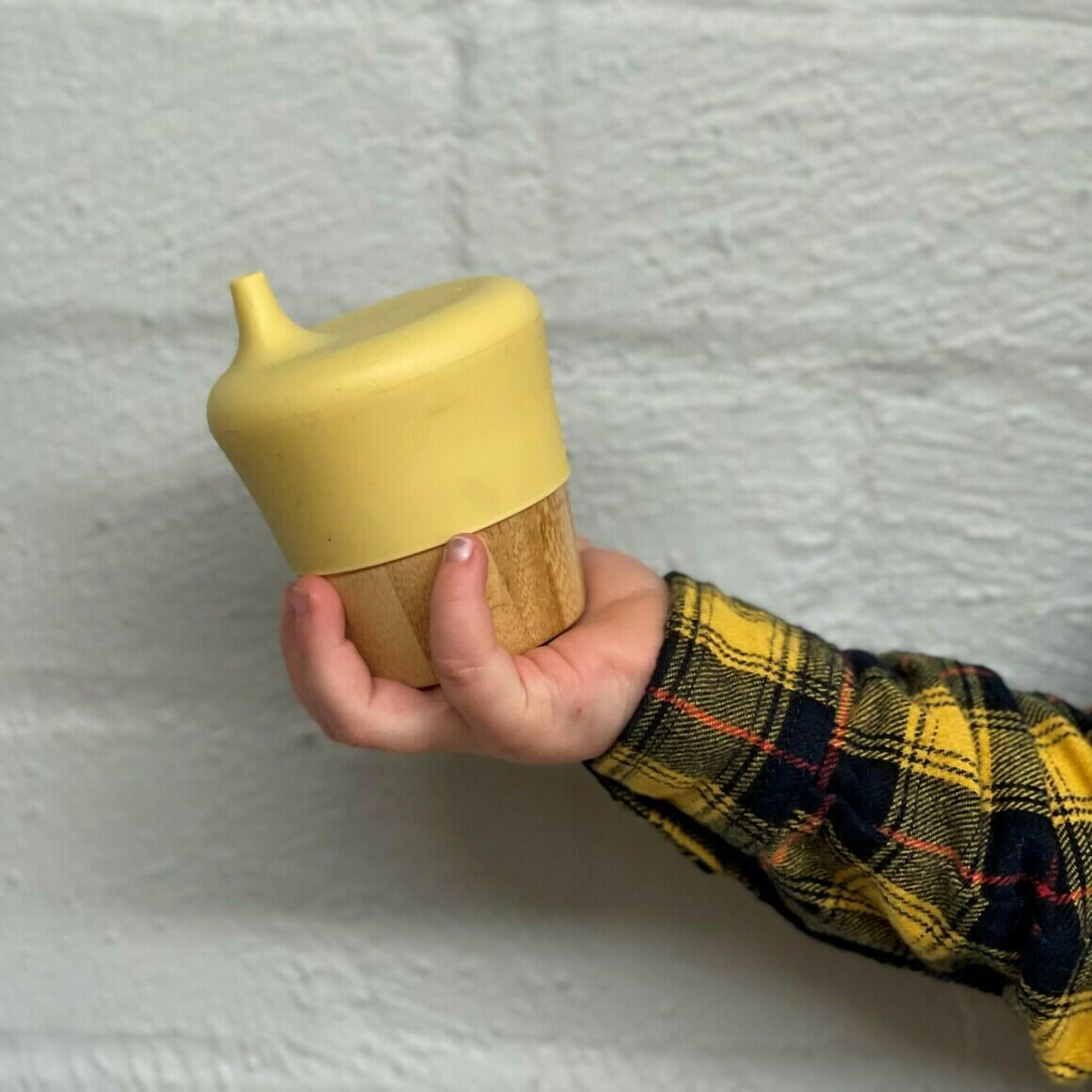 Bamboo Sippy Cup   Trada Marketplace