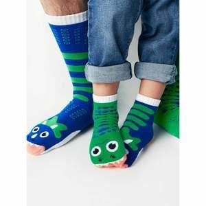 T-Rex & Triceratops   Kids Collectible Mismatched Socks   Trada Marketplace