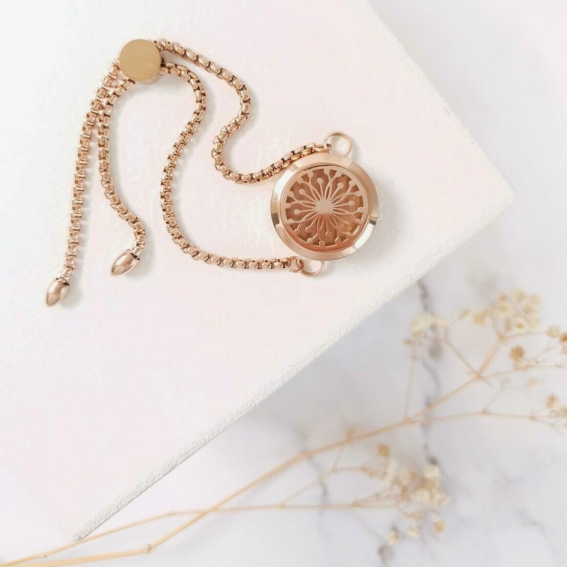 Diffuser Chain Bracelet Rose Gold   Trada Marketplace