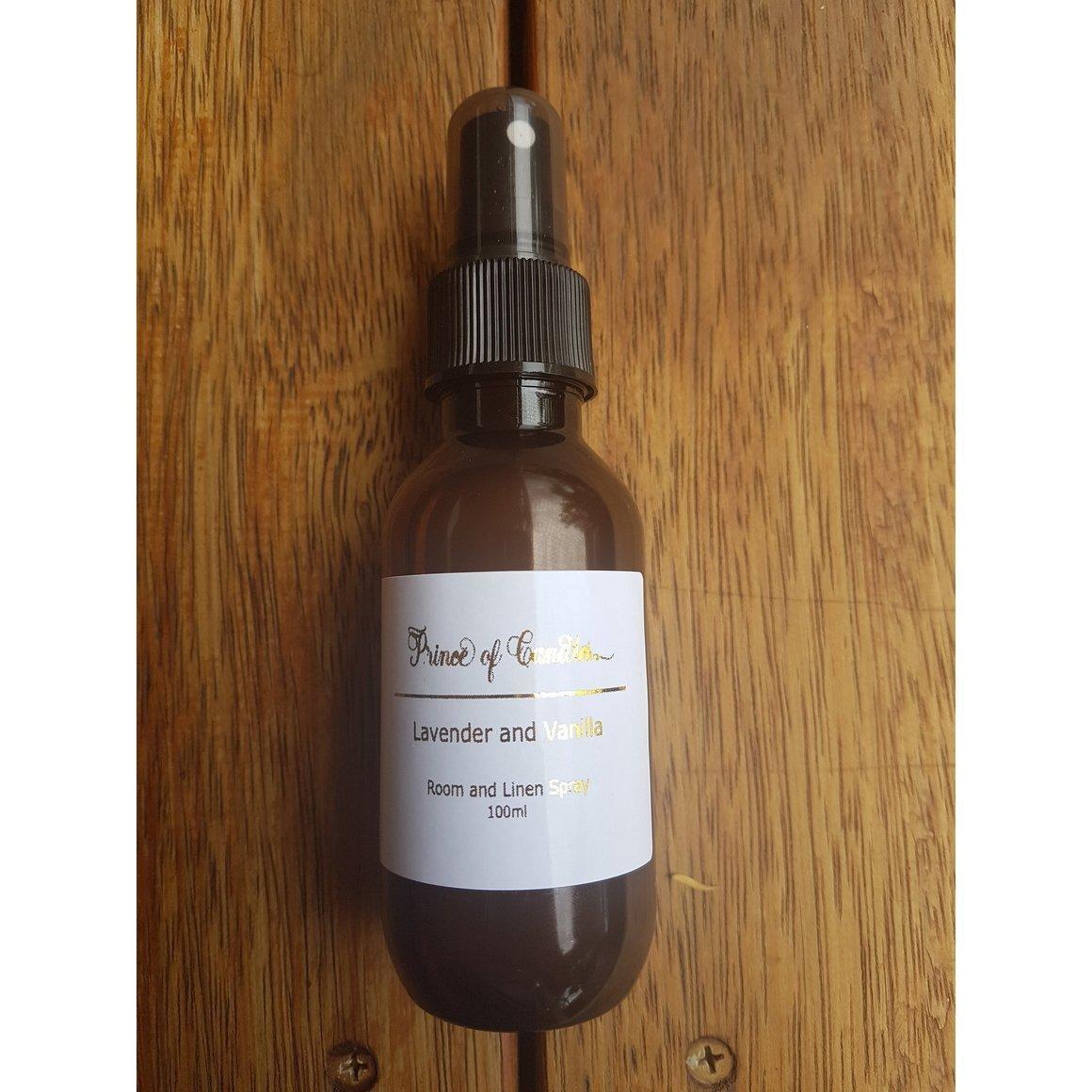 100ml Lavender and Vanilla Room Spray | Trada Marketplace