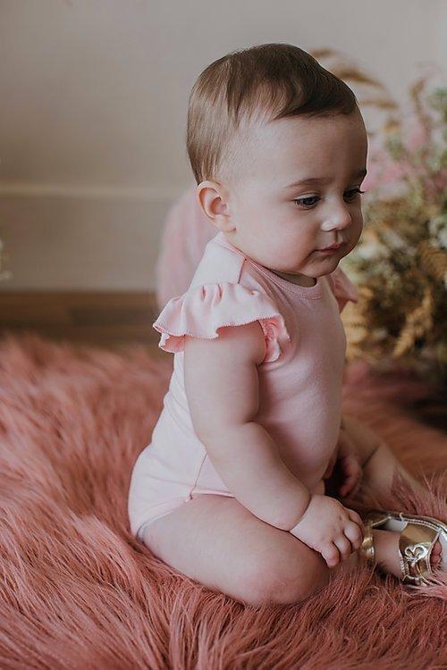 SS Ruffle Onzie Pink | Trada Marketplace