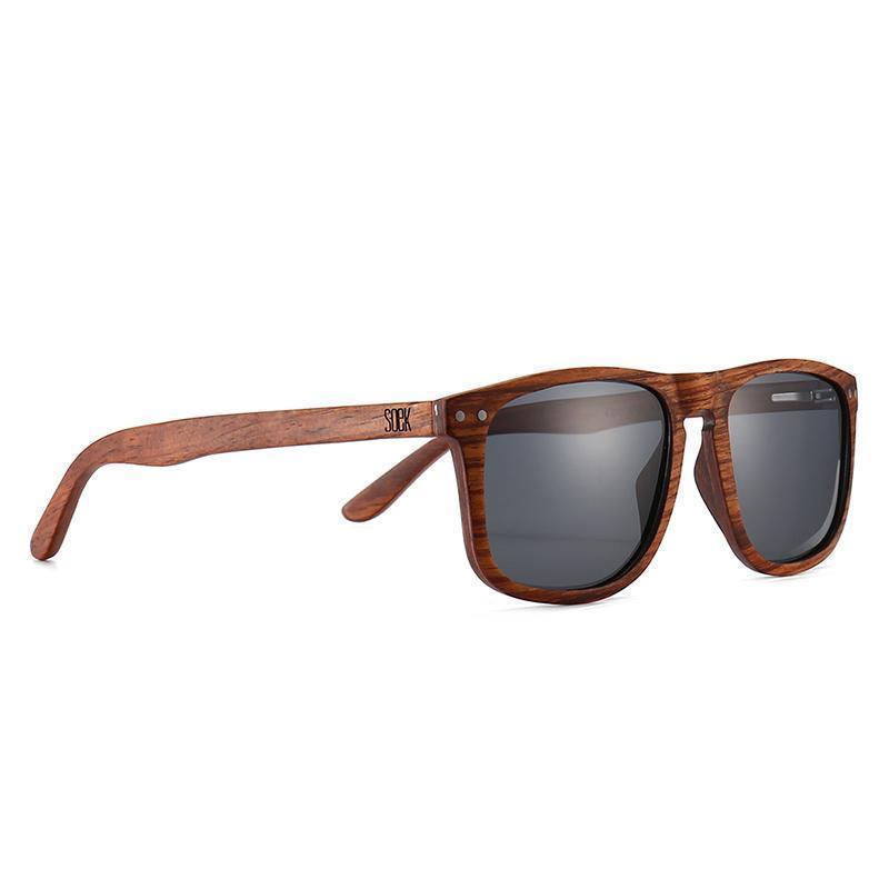 NOMAD- Rosewood  Frame with Black Polarized Lens  - Adult | Trada Marketplace