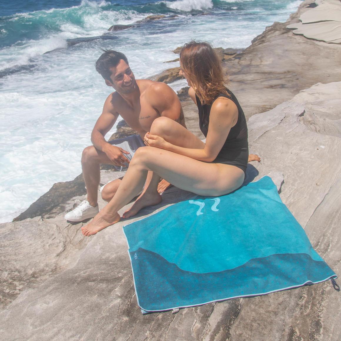 Sand Free Beach Towel - Sea Breeze | Trada Marketplace