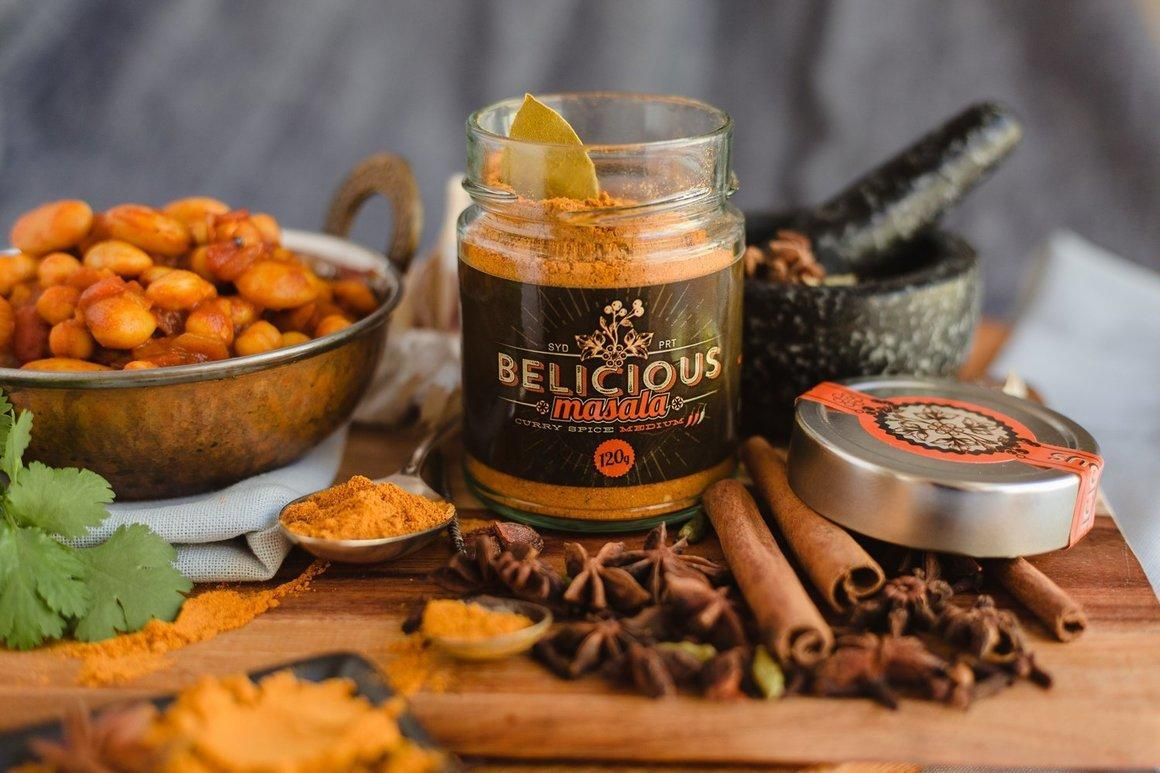 Belicious Masala curry spice - Medium   Trada Marketplace