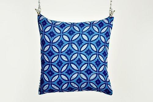Amber Kerala print cushion | Trada Marketplace