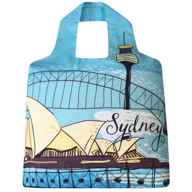 Sydney Harbour SAKitToMe Foldable Shopping Bag  | Trada Marketplace