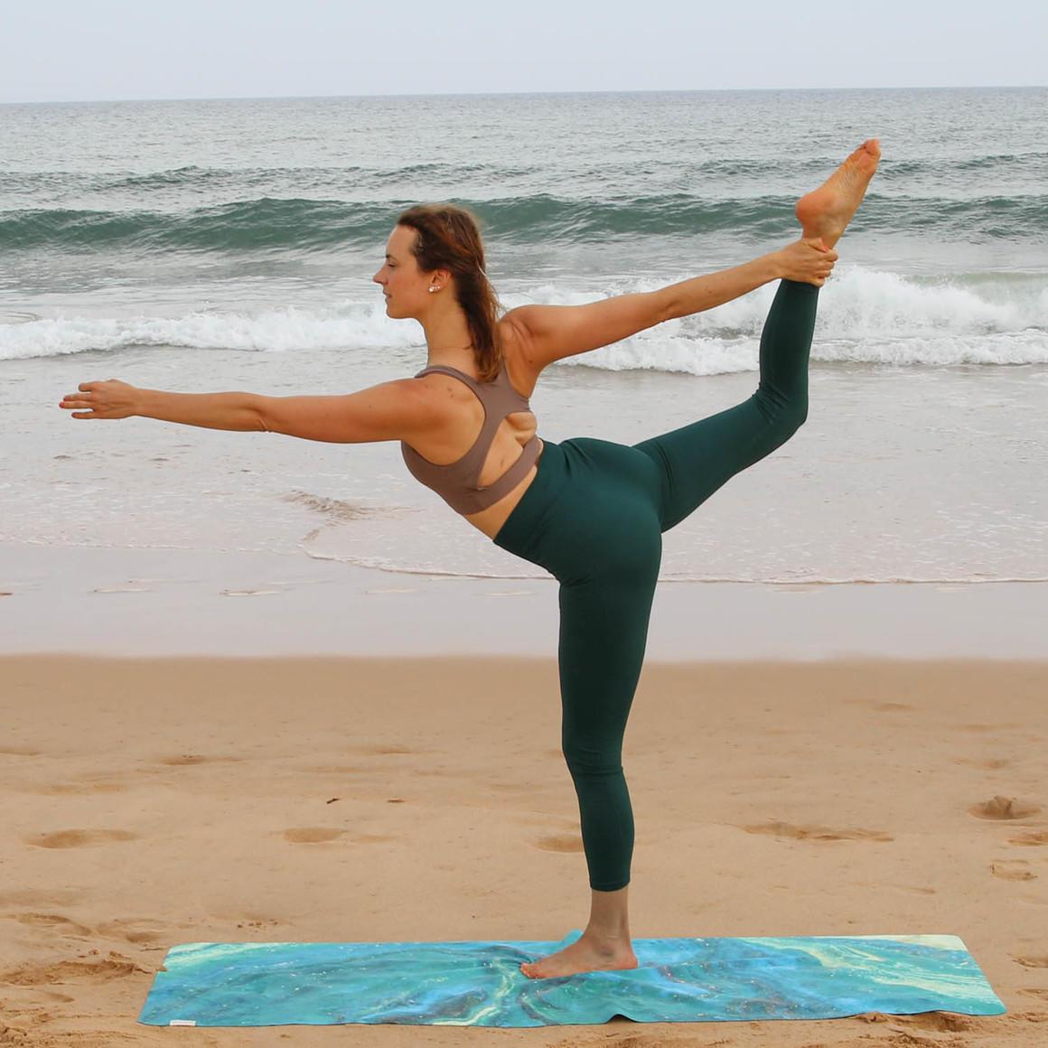 Travel Yoga Mat Galaxy Aurora | Trada Marketplace