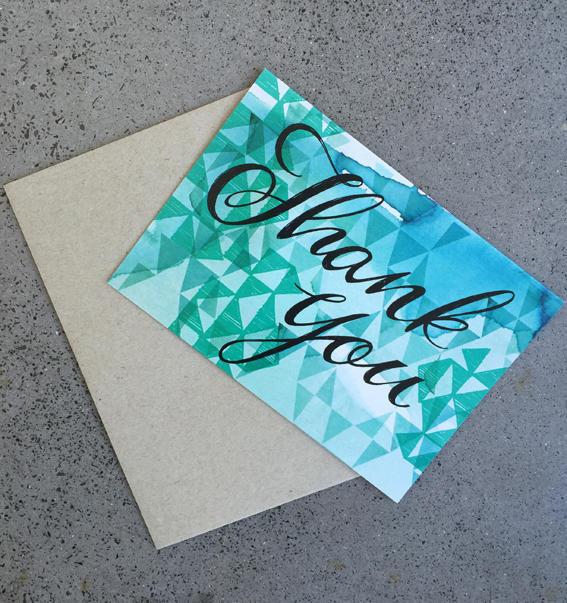 Thankyou Card | Trada Marketplace